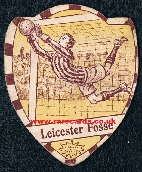 1910 Leicester Fosse Baines card
